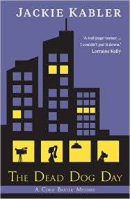 The Dead Dog Day by Jackie Kabler Cover