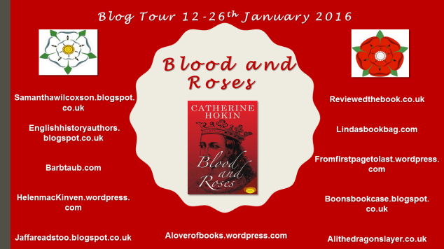 Blood and Roses Blog Tour