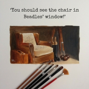 Beadles Chair and Brushes