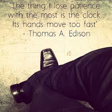 Edison patience quote