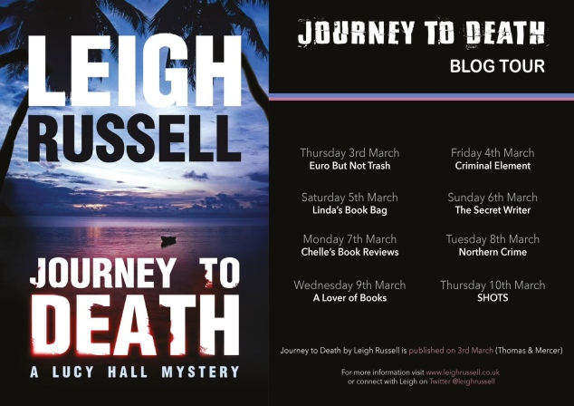 journey to death blog tour banner