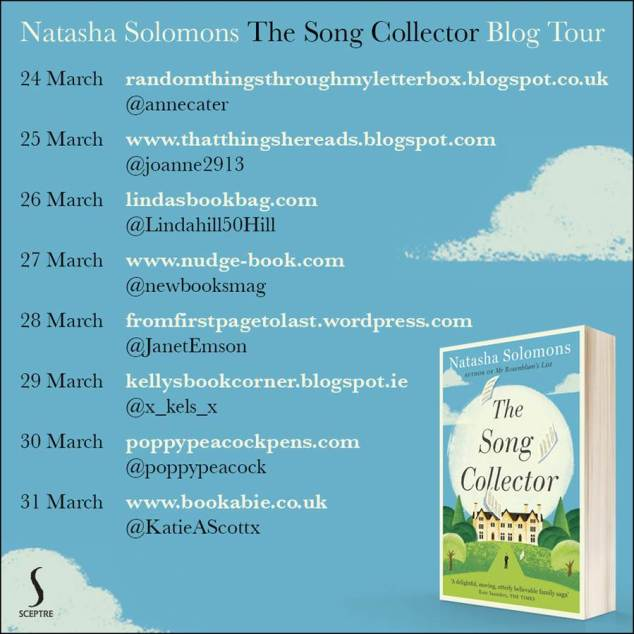 The Song Collector Blog Tour Poster