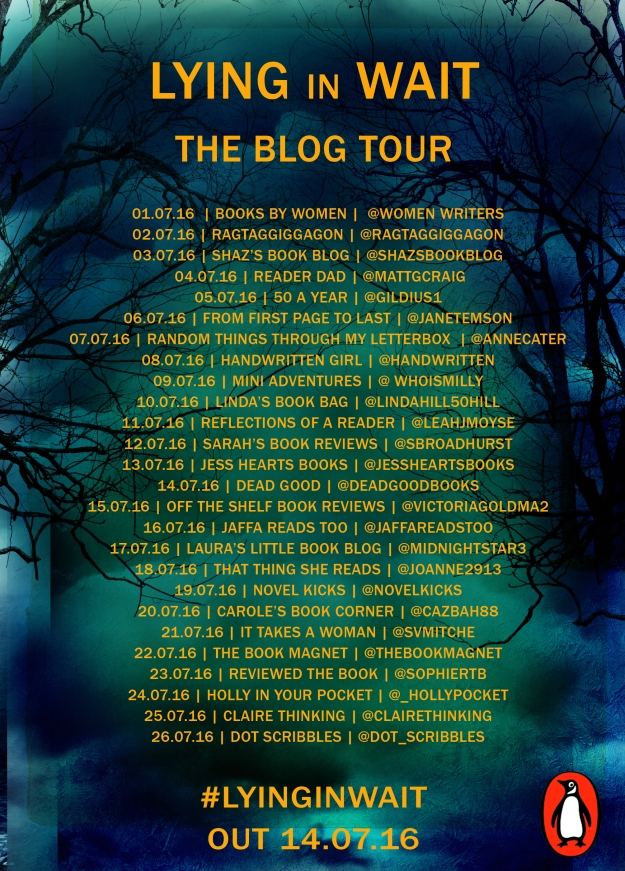 lying in wait blog tour