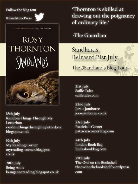 Sandlands tour poster
