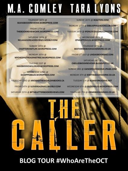 THE CALLER_Blog tour promo