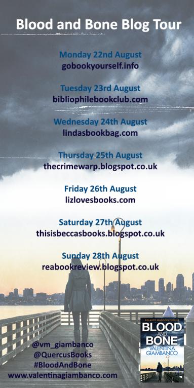 Blood and Bone blog tour poster