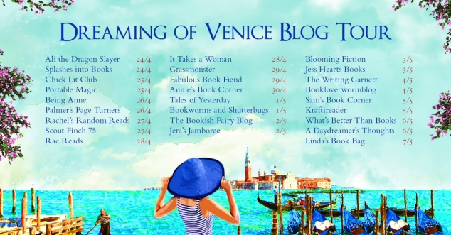 Dreaming of Venice blog tour 2