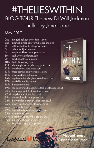 The Lies Within Blog Tour Banner