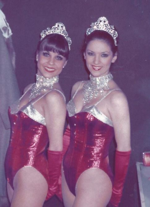 Julia and Karen at the Stork Room 1970's