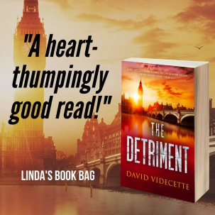 Linda book bag The Detriment quote