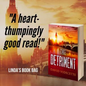 Linda book bag The Detriment quote