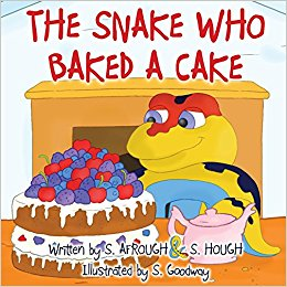 snake who baked a cake