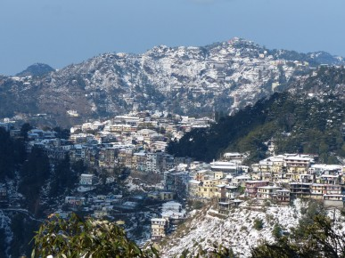mussoorie in snow x