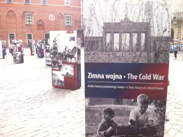 Cold War exhibit in Warsaw