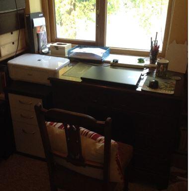 Liz desk
