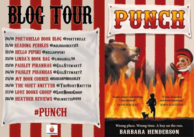 Punch tour poster