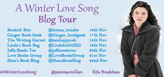 Blog Tour Artwork for A Winter Love Song