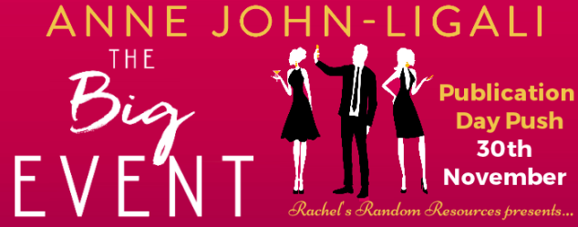 The Big Event Publication Day Push Banner