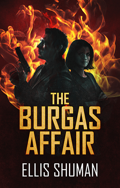 The Burgas Affair by Ellis Shuman 400x625