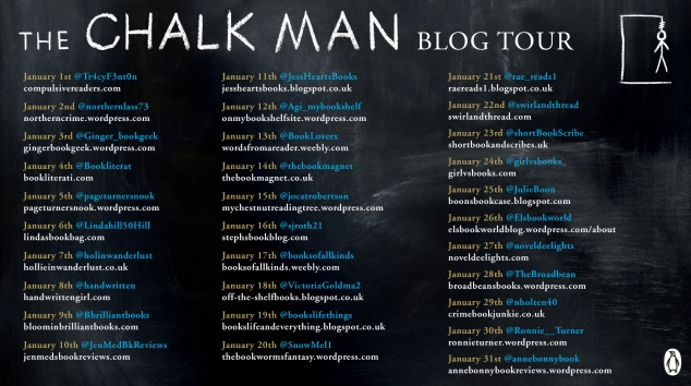 Chalk Man Blog Tour Banner