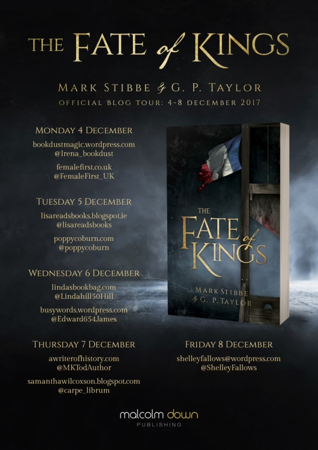 Fate of Kings - blog tour poster