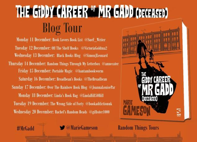 Mr Gadd tour poster