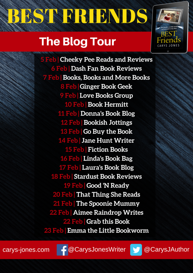 BEST FRIENDS blog tour banner