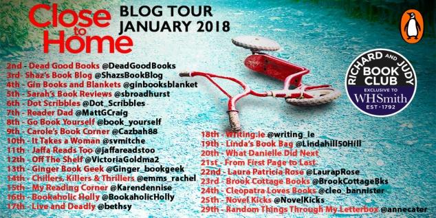 Close to Home blog tour