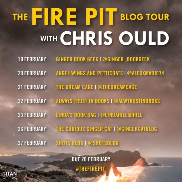 Fire Pit blog tour