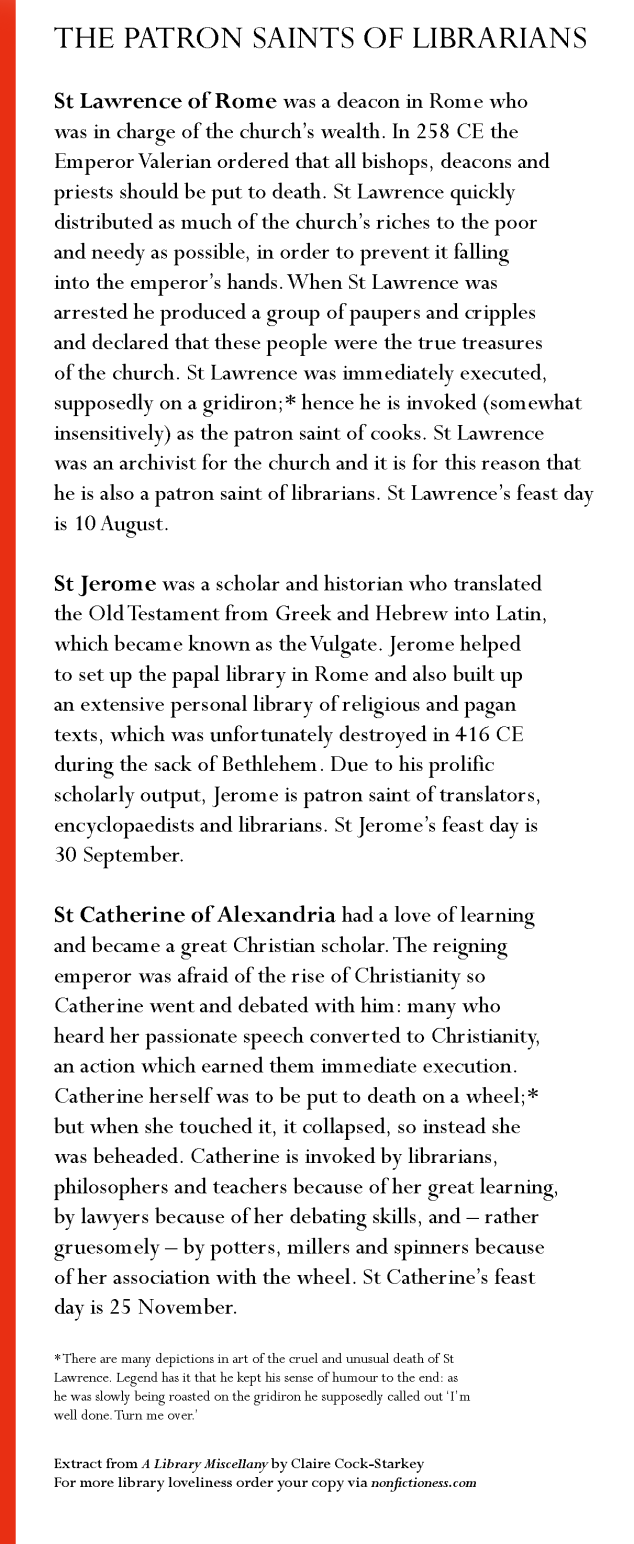 patron-saints-of-librarians-extract-library-miscellany