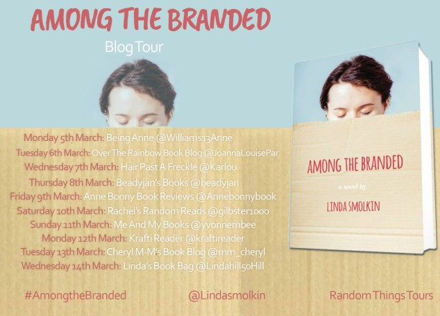 Among The Branded Blog Tour Poster
