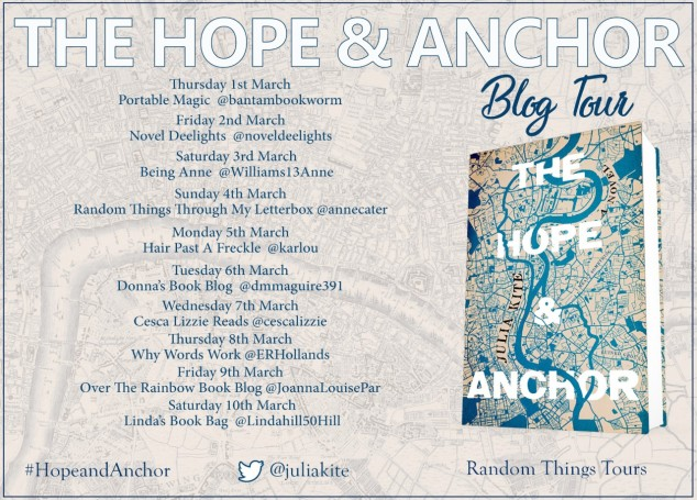 Hope And Anchor Blog Tour Poster