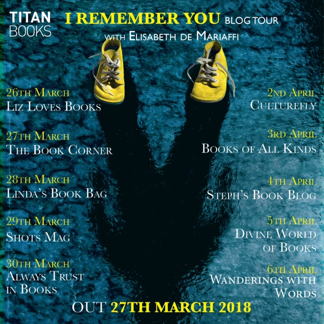 I Remember You blog tour (COMPLETE)