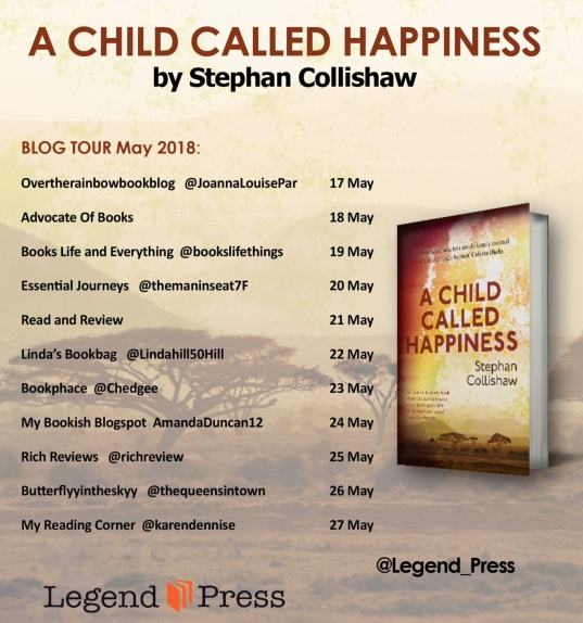 child called happiness Blog Tour Banner jpeg