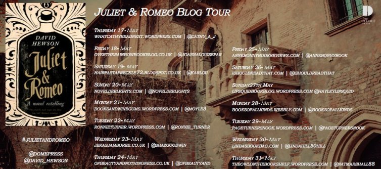 Juliet and Romeo blog tour