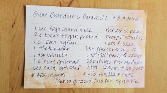 recipe first