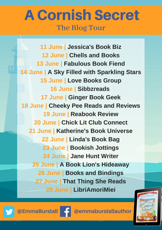 A Cornish Secret blog tour banner