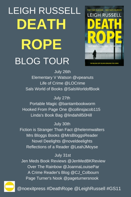 Death Rope Blog Tour poster