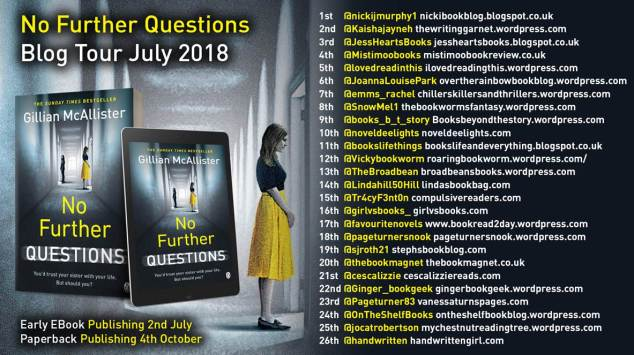 No Further Questions poster
