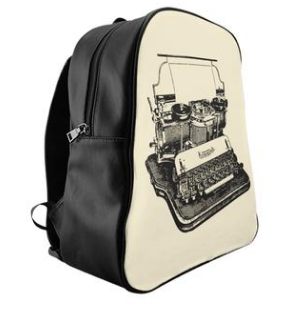typewriter backback