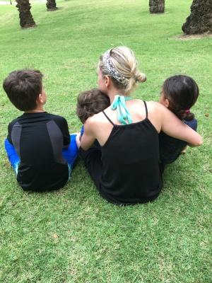 Rhiannon and kiddos