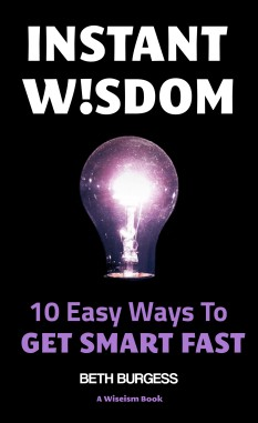 Instant Wisdom Front cover