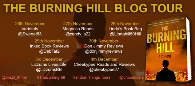 The Burning Hill BLog Tour Poster (1)