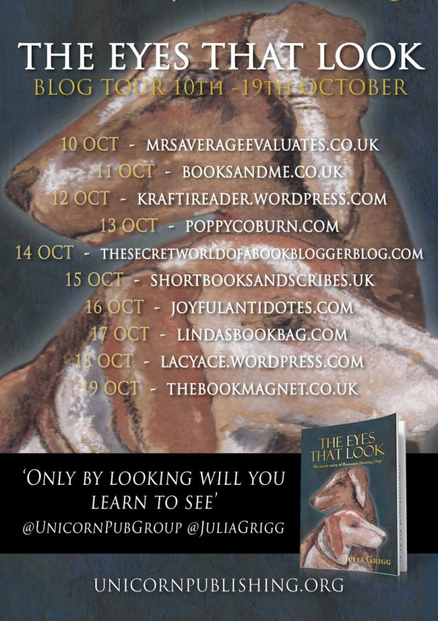 The Eyes that look Blog tour poster