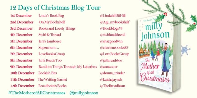 Blog Tour 12 Days of Christmas banner