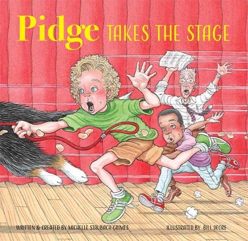 Pidge Takes the Stage - Book Cover