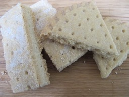 shortbread fan & fingers - photo @SandraDanby