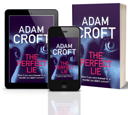 The Perfect Lie - Adam Croft - 3 3D book covers