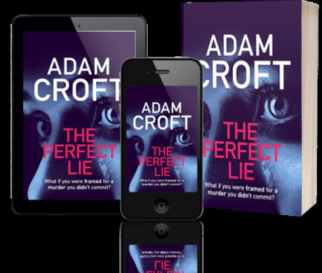 The Perfect Lie Adam Croft 3 3d Book Covers