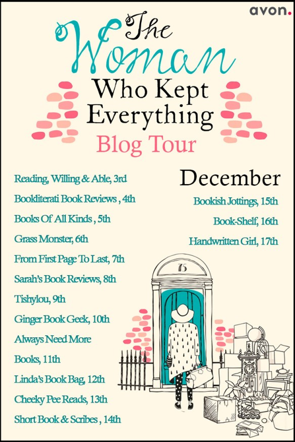 The Woman Who Kept Everything Blog Tour